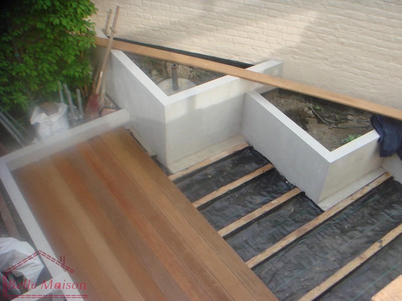 Rénovations, construire terrasses en bois, béton, pierre, carrelages