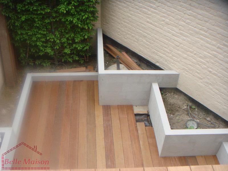 R novations construire terrasses en bois b ton pierre - Terrasse bois et pierre ...