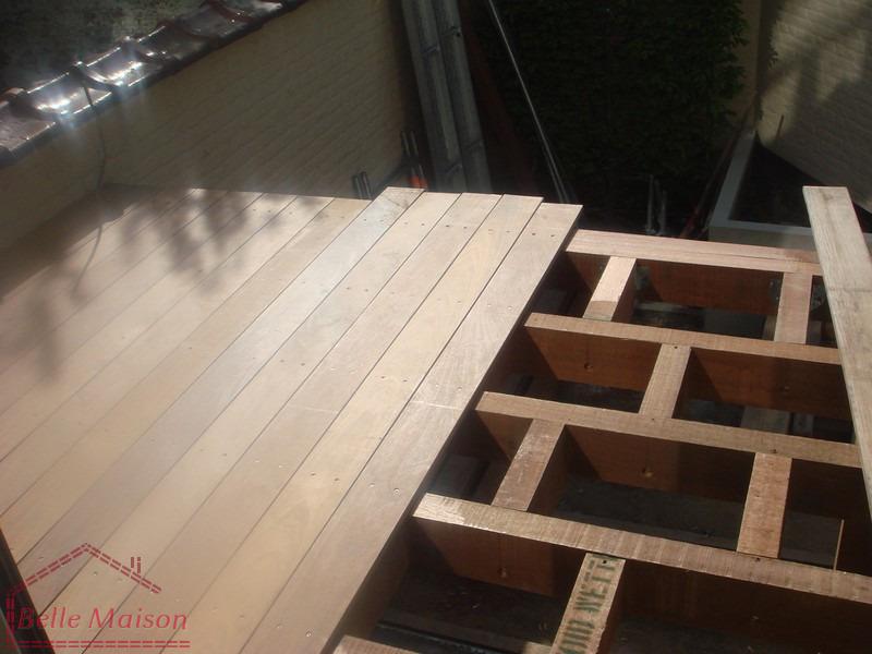 R novations construire terrasses en bois b ton pierre for Belle terrasse en bois